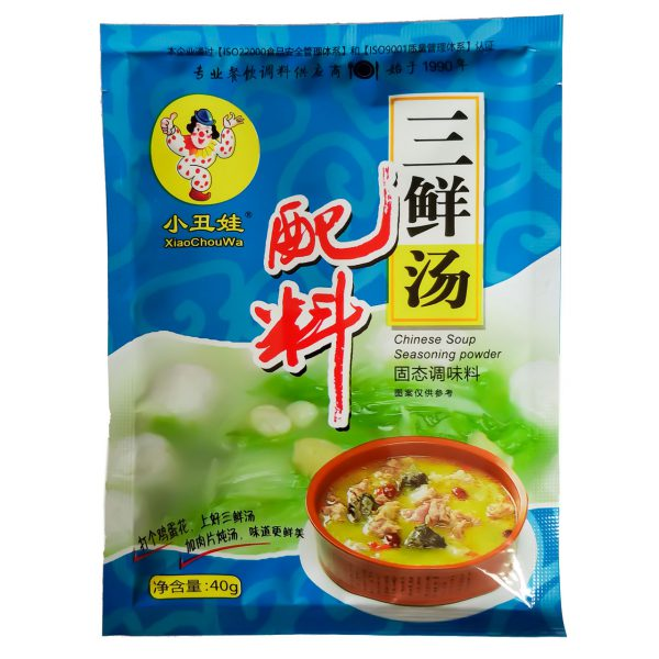 40g三鲜汤配料